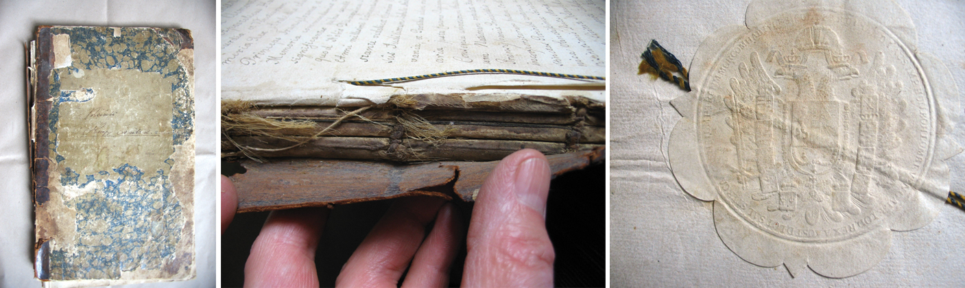 Régi dokumentumok restaurálása