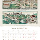 Európai városok Hartmann Schedel krónikájából 2013-as naptár
