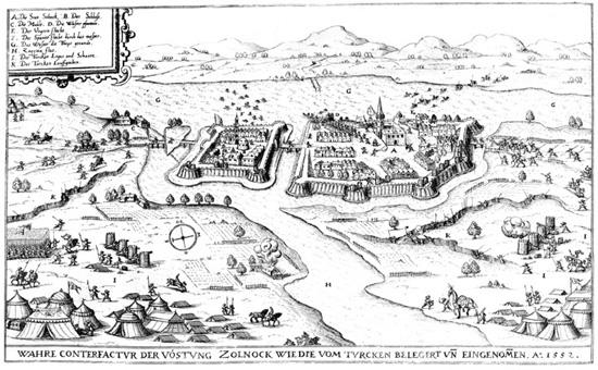 Szolnok 1552