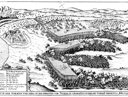 Sziszek 1593