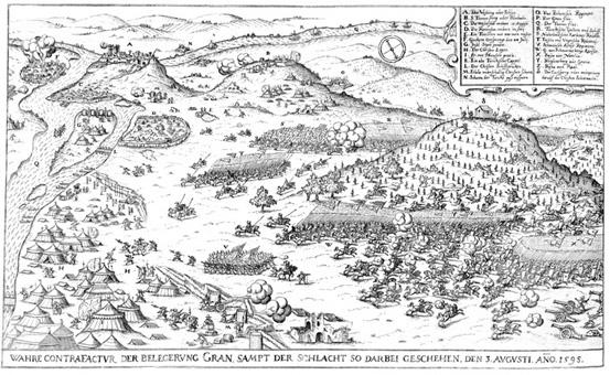 Esztergom 1595
