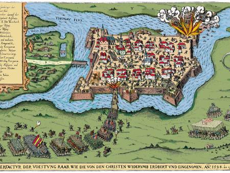 Győr 1598 színes