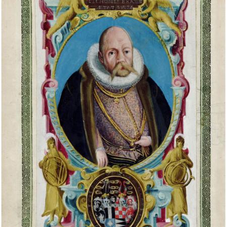 Tycho de Bahe portré