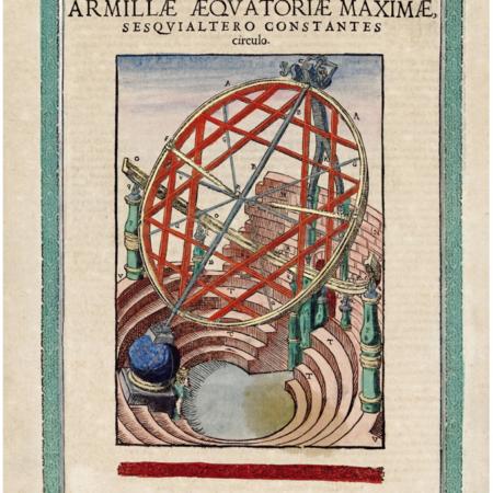 Nagy egyenlítői armilla, rögzített körrel