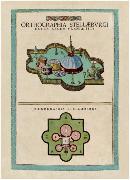 Stellaburg (Csillag-kastély) látképe