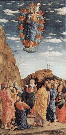 Andrea Mantegna_Krisztus mennybemenetele