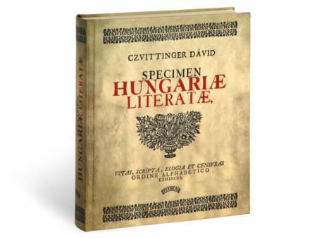 Czvittinger Dávid Specimen Hungariae Literatae