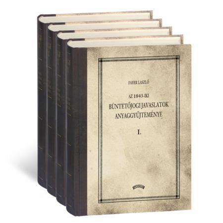 Fayer László Az 1843. évi javaslatok anyaggyűjteménye