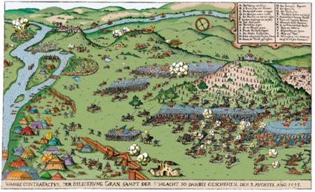 Esztergom 1595 színes